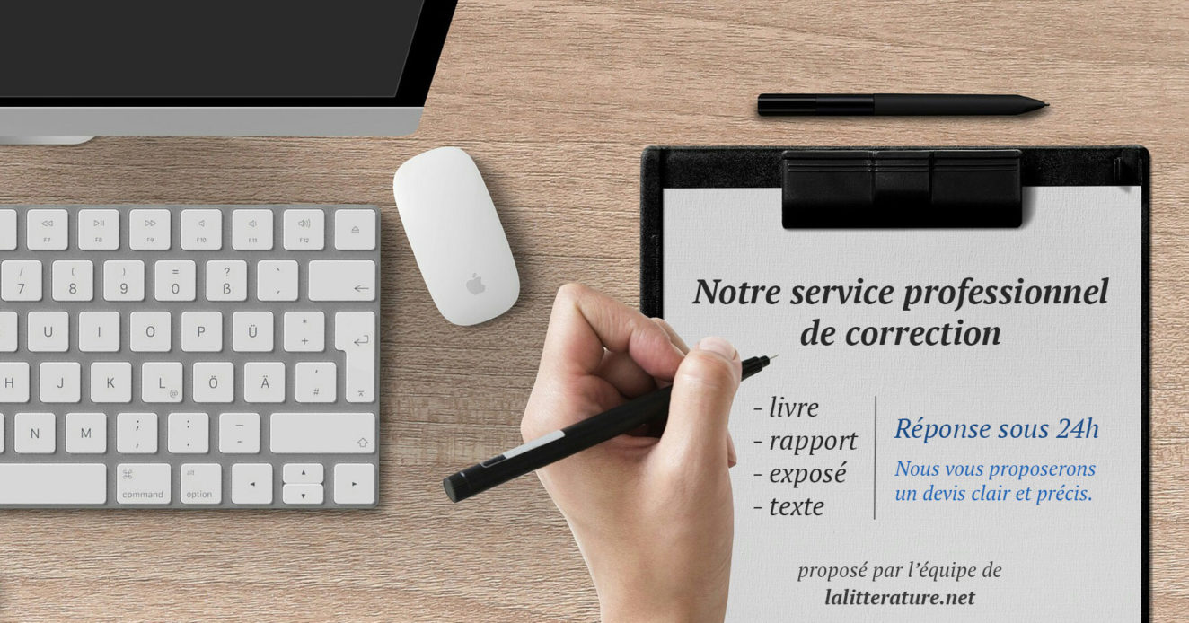 service de correction de texte